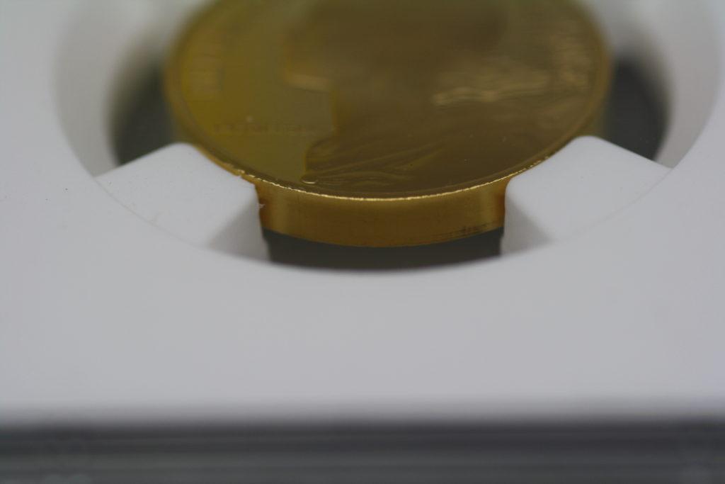 最高グレード 肉厚ピエフォー 1929年 10サンチーム金貨