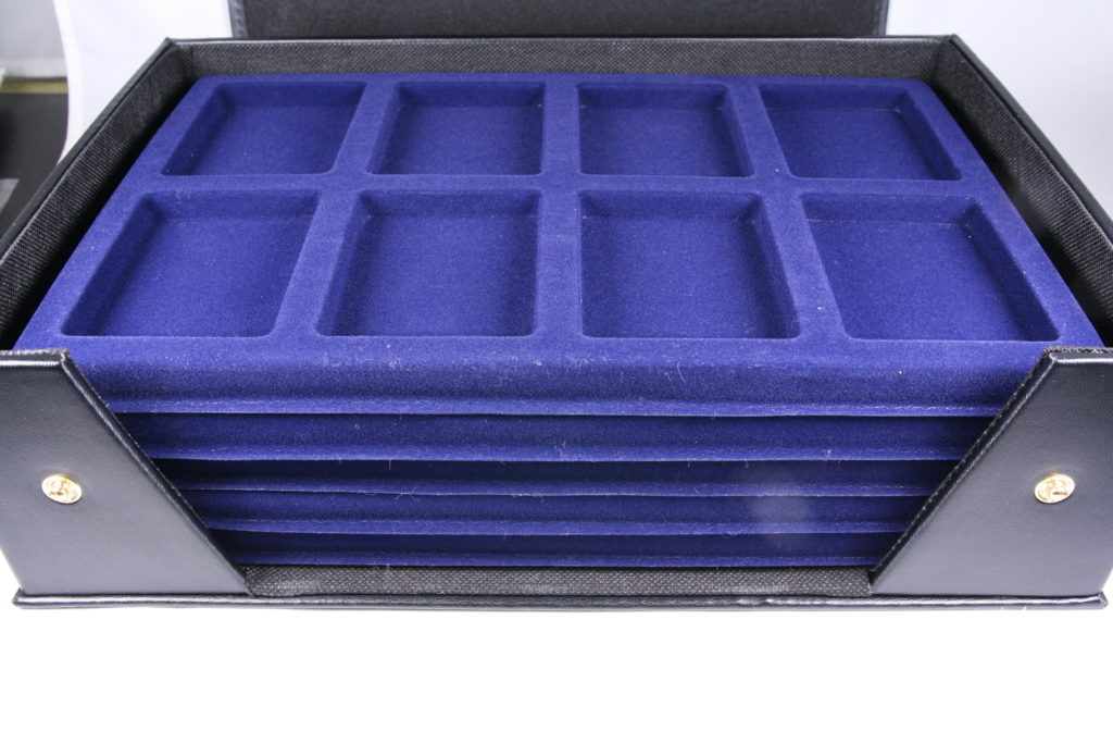 コイントレー収納ケース コイントレー5枚を収納可 スラブコインを40枚収容可 PCGS NGC コイントレイ ライトハウス社製