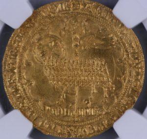実質最高グレード MS64+ 金の羊(Mouton D'or) 金貨 ムートンドール フランス ジャン2世(Jean II) NGC