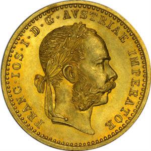 トップグレード フランツ・ヨーゼフ1世 1ダカット オーストリア 1894年 金貨 MS66 NGC