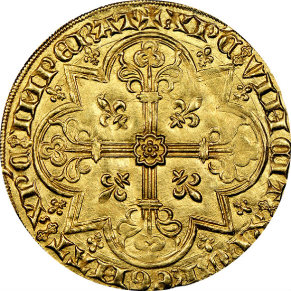 トップグレード 2ムートン金貨 ブラバント(ベルギー) 金の羊(Mouton D'or) 世界で4枚 MS64+ NGC