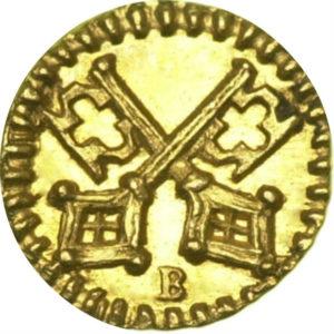 トップグレード レーゲンスブルク(ドイツ) 1/32ダカット 1750年頃 小粒でピリリ 金貨 MS66 NGC