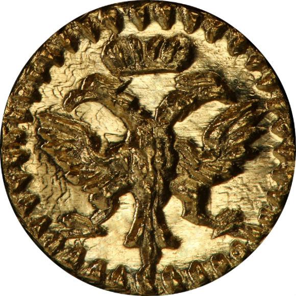 """トップグレード レーゲンスブルク(ドイツ) 1/32ダカット """"Bイニシャル"""" 1750年頃 金貨 MS66 NGC"""