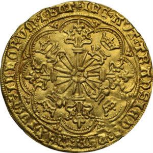 オンリーワングレード リヤル(ローズノーブル) 金貨 エドワード4世 ノリッジ鋳造所 イングランド MS61 NGC