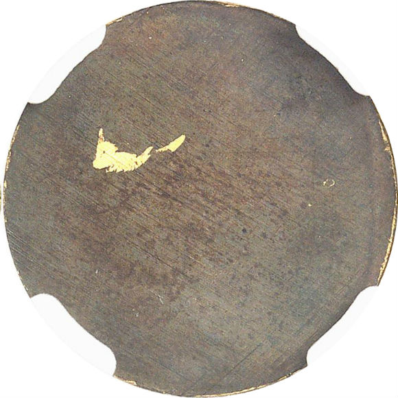 オンリーワングレード 試鋳貨 20フラン(ブランク) フランス ブロンズ(金メッキ) 第二共和政 1848年 ウルトラカメオ プルーフ PF64 NGC