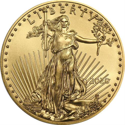 アメリカ ブリオン金貨 50ドル 1オンス アメリカンイーグル セント・ゴーデンス ウォーキング・リバティー ウェストポイント プラスチック(ラウンド)ケース入り